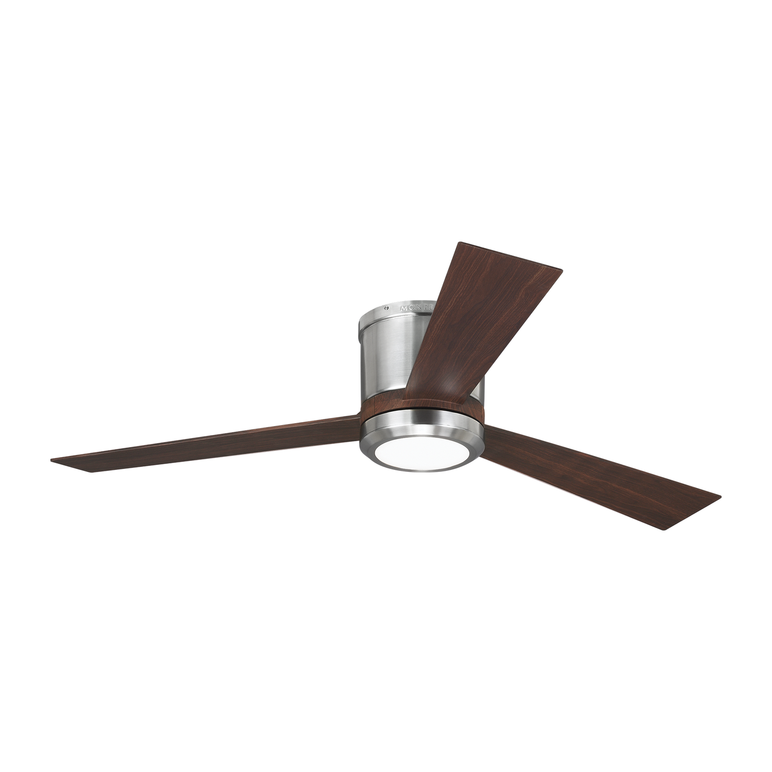 52 inchCeiling Fan from the Clarity collection by Monte Carlo 3CLYR52BSD V1