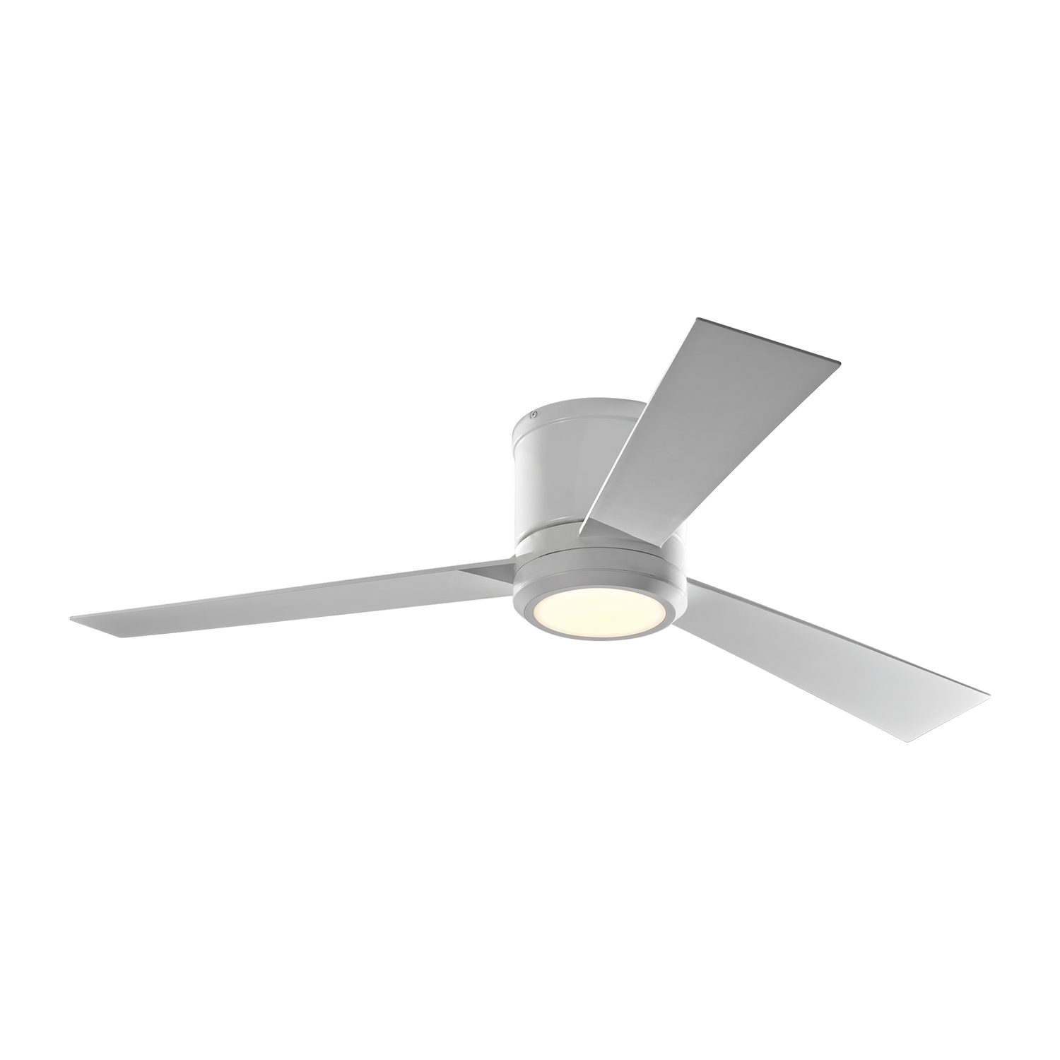52 inchCeiling Fan from the Clarity collection by Monte Carlo 3CLYR52RZWD V1