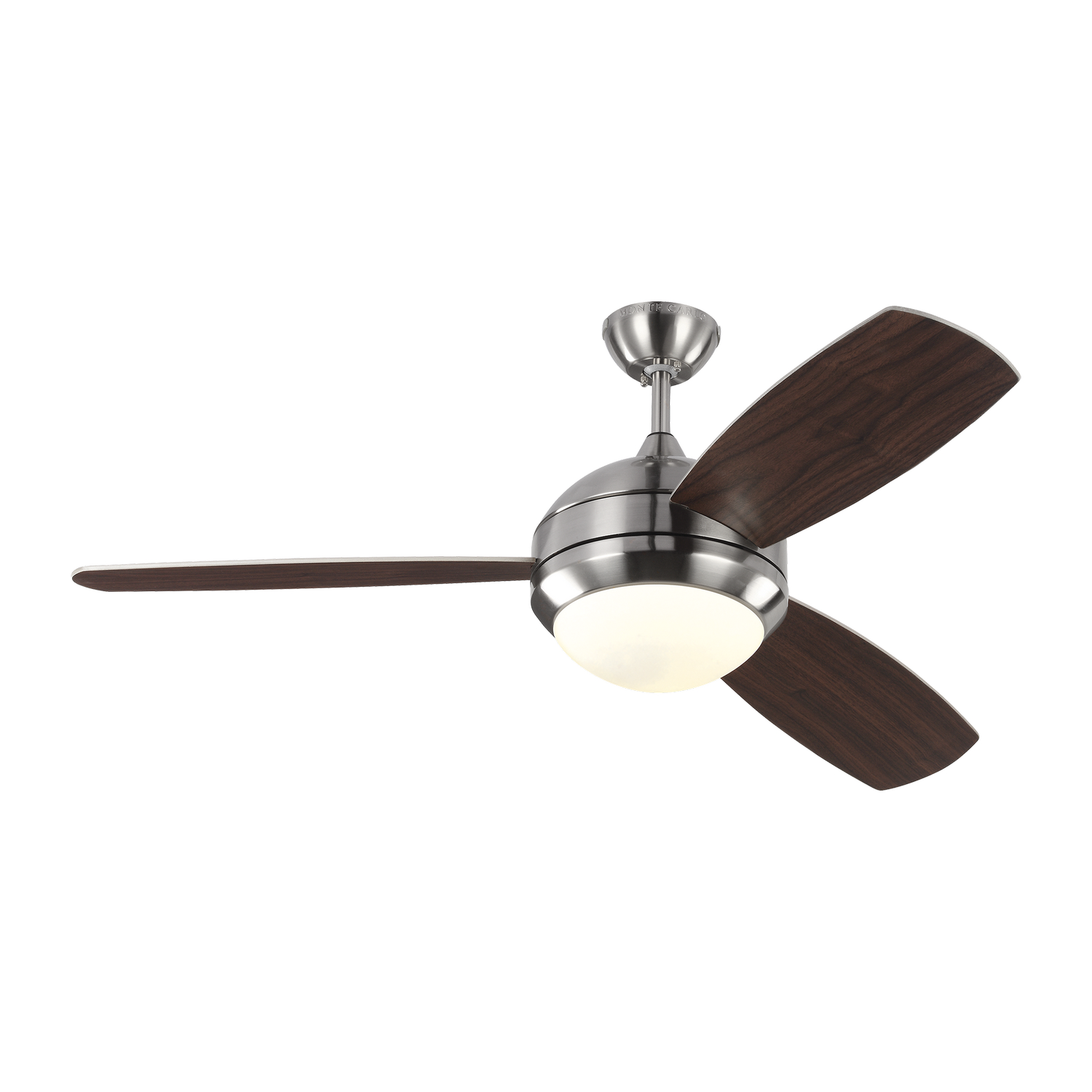 52 inchCeiling Fan from the Discus Trio collection by Monte Carlo 3DIR52BSD V1