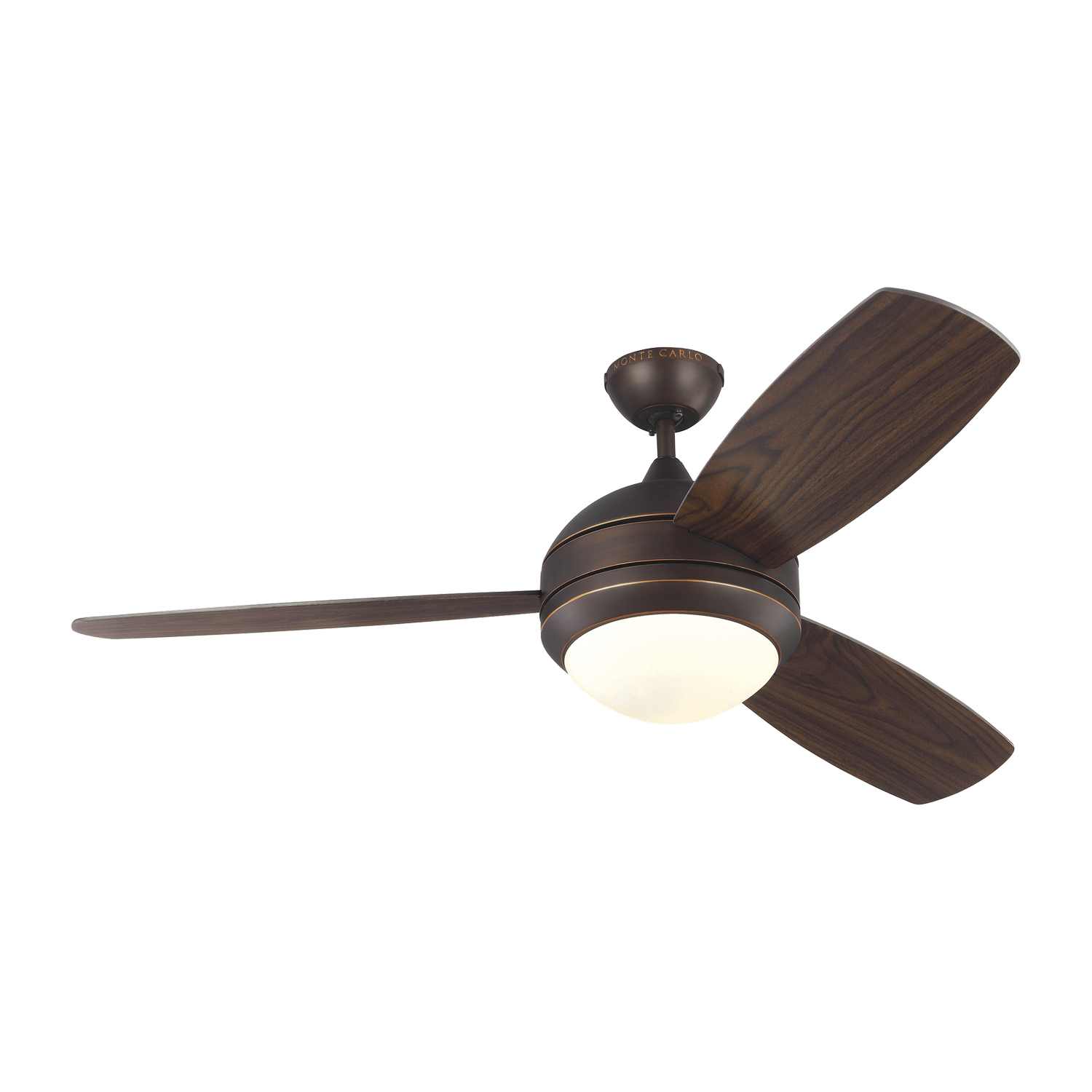 52 inchCeiling Fan from the Discus Trio collection by Monte Carlo 3DIR52RBD V1