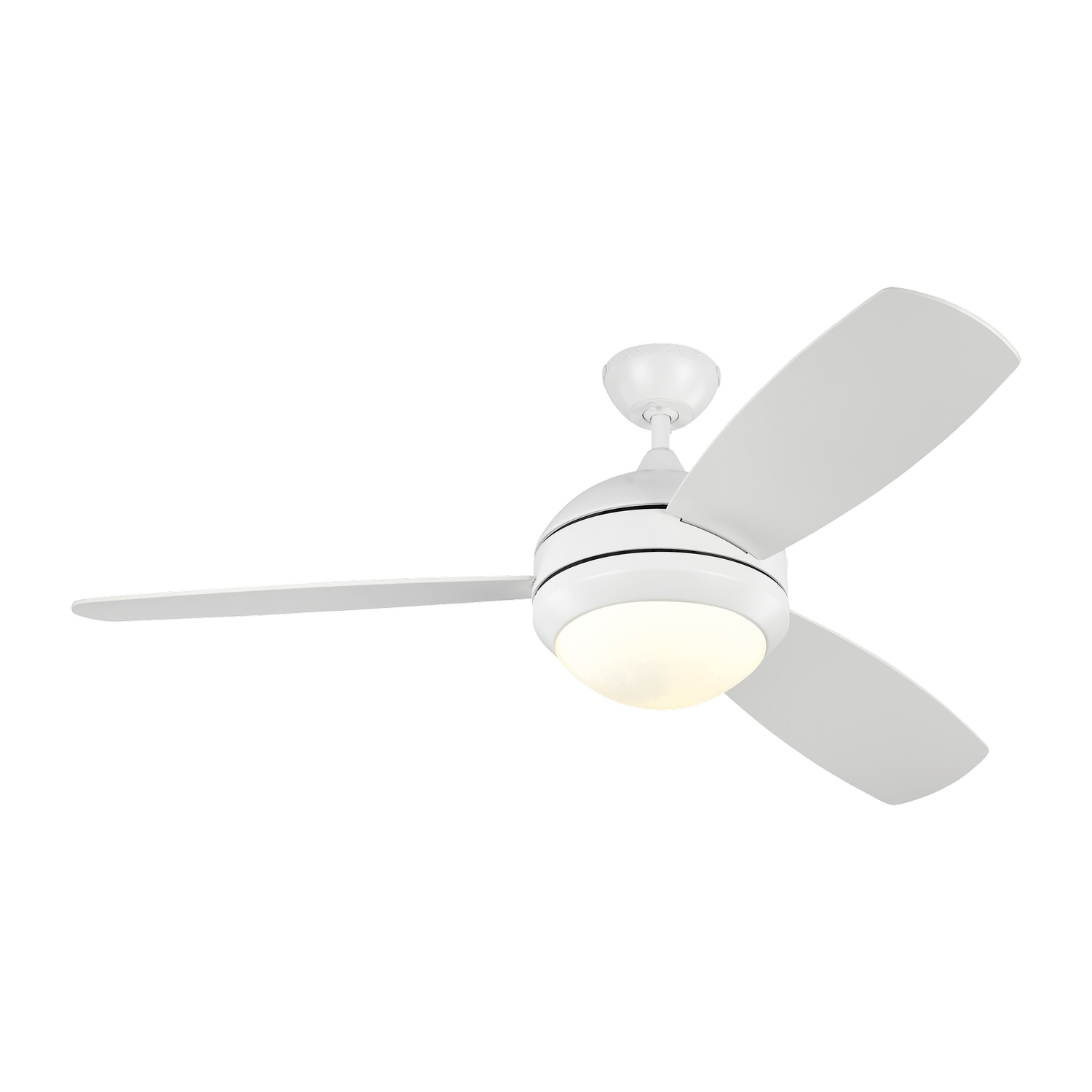 52 inchCeiling Fan from the Discus Trio collection by Monte Carlo 3DIR52RZWD V1