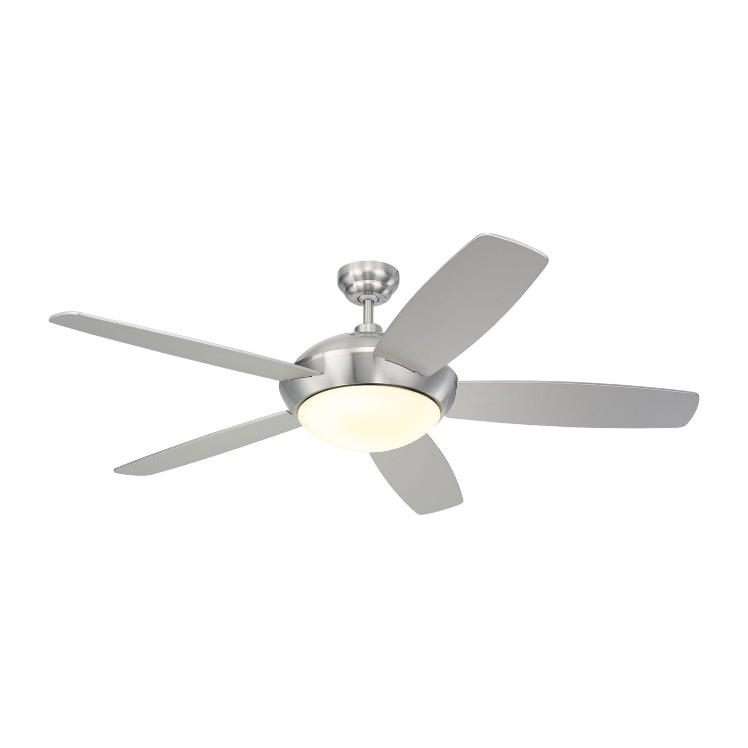 52 inchCeiling Fan from the Sleek collection by Monte Carlo 5SLR52BSD V1