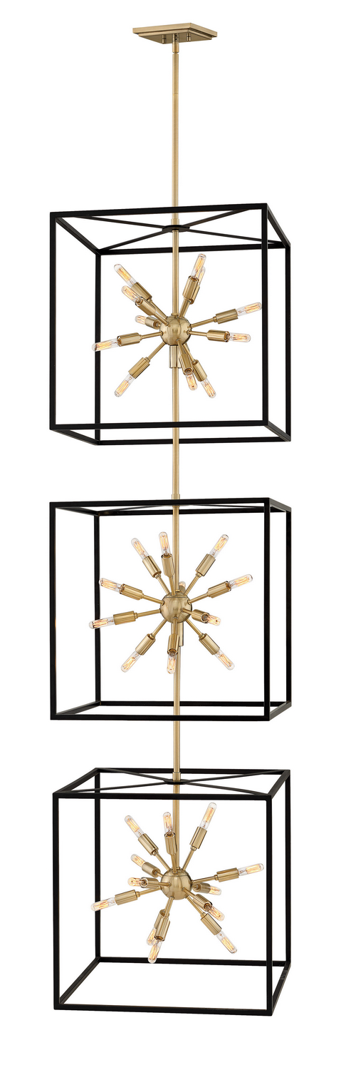 36 Light Chandelier from the Aros collection by Hinkley 46318BLK