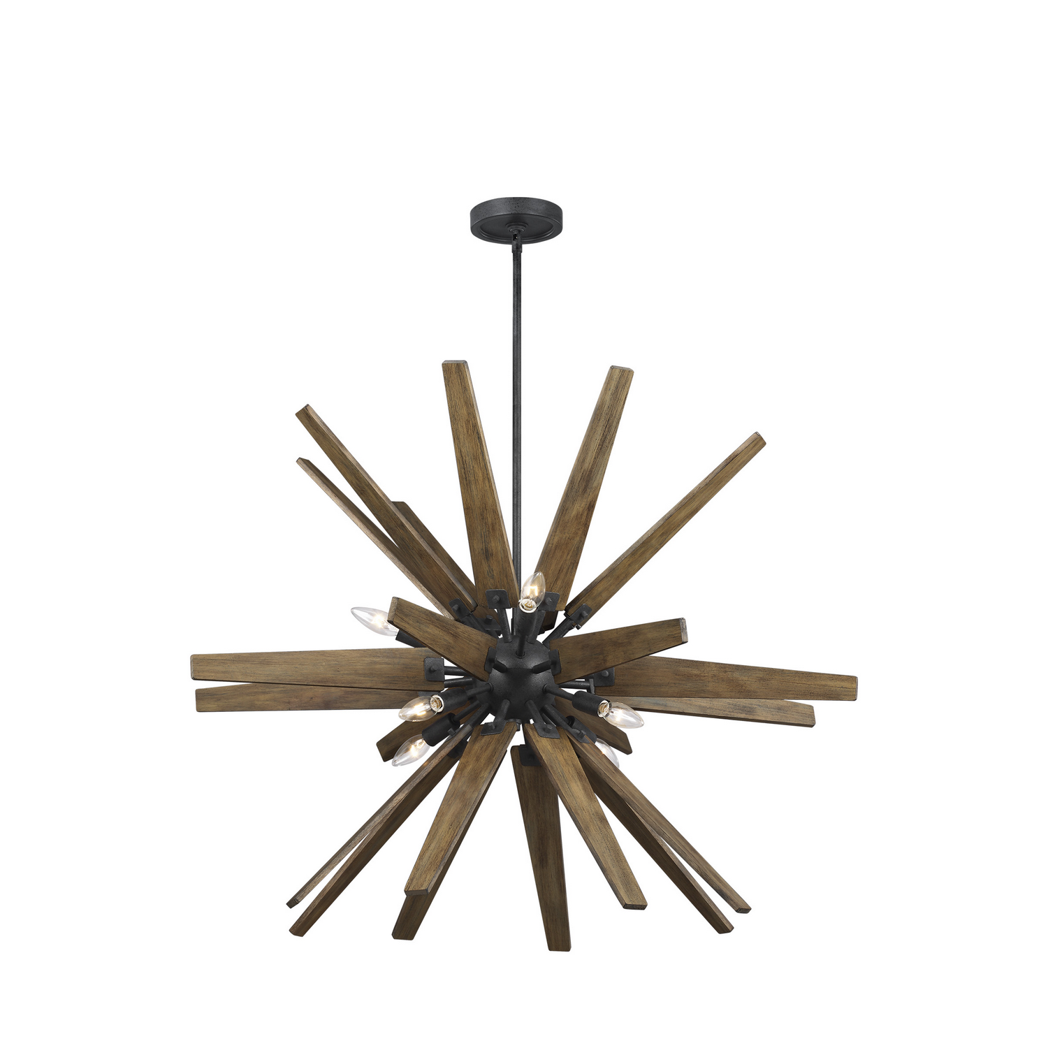 Eight Light Chandelier from the Thorne collection by Feiss F32588DWZWOW