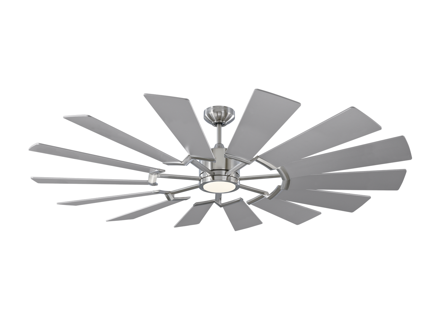 62 inchCeiling Fan from the Prairie 62 collection by Monte Carlo 14PRR62BSD