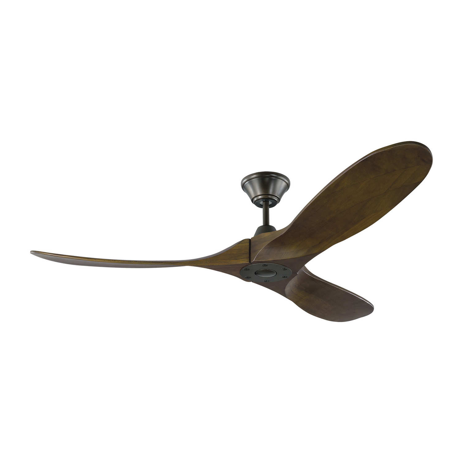 52 inchCeiling Fan from the Maverick II collection by Monte Carlo 3MAVR52BK