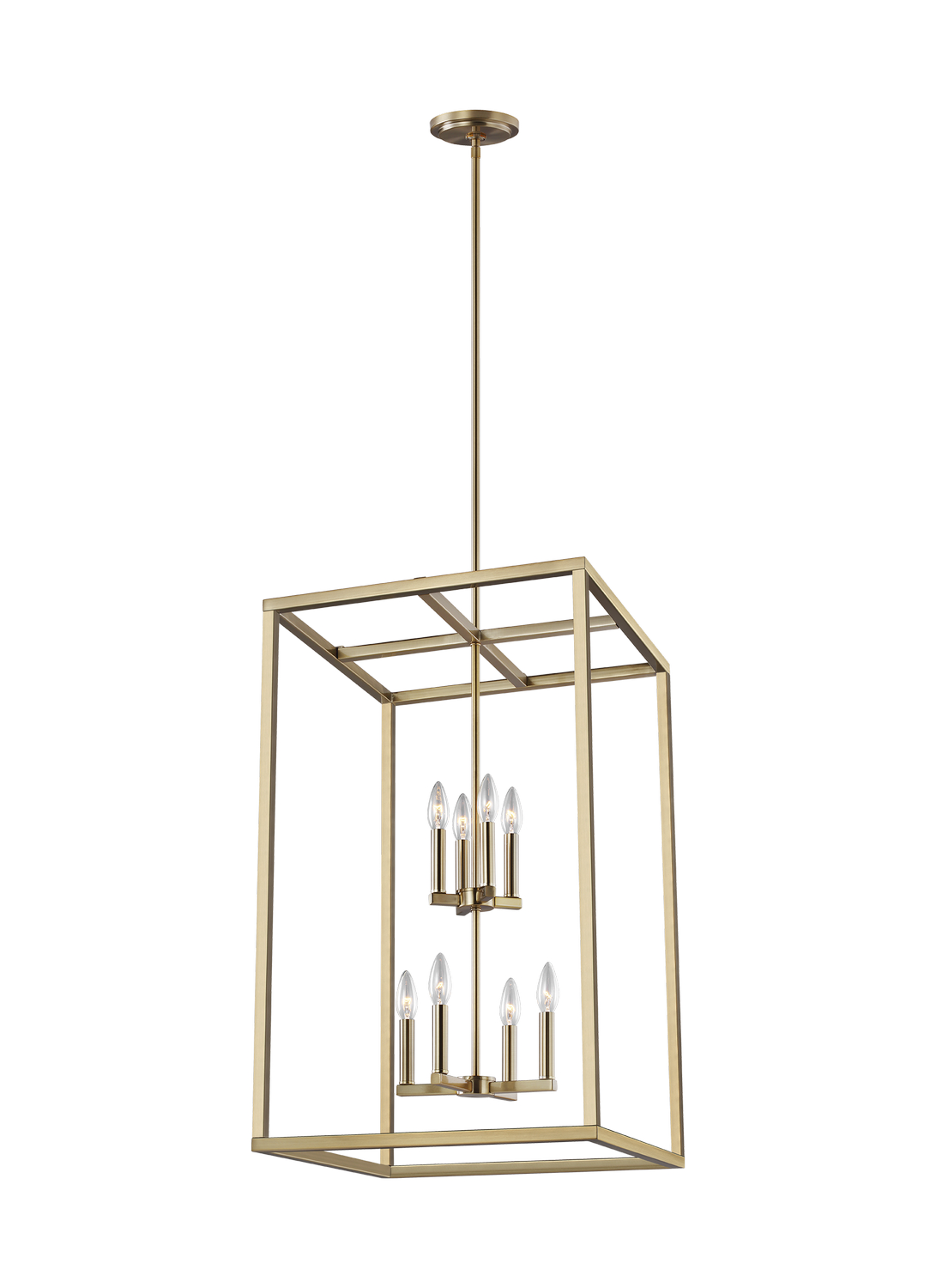 Eight Light Hall Foyer Pendant from the Moffet Street collection by Seagull 5134508EN 848
