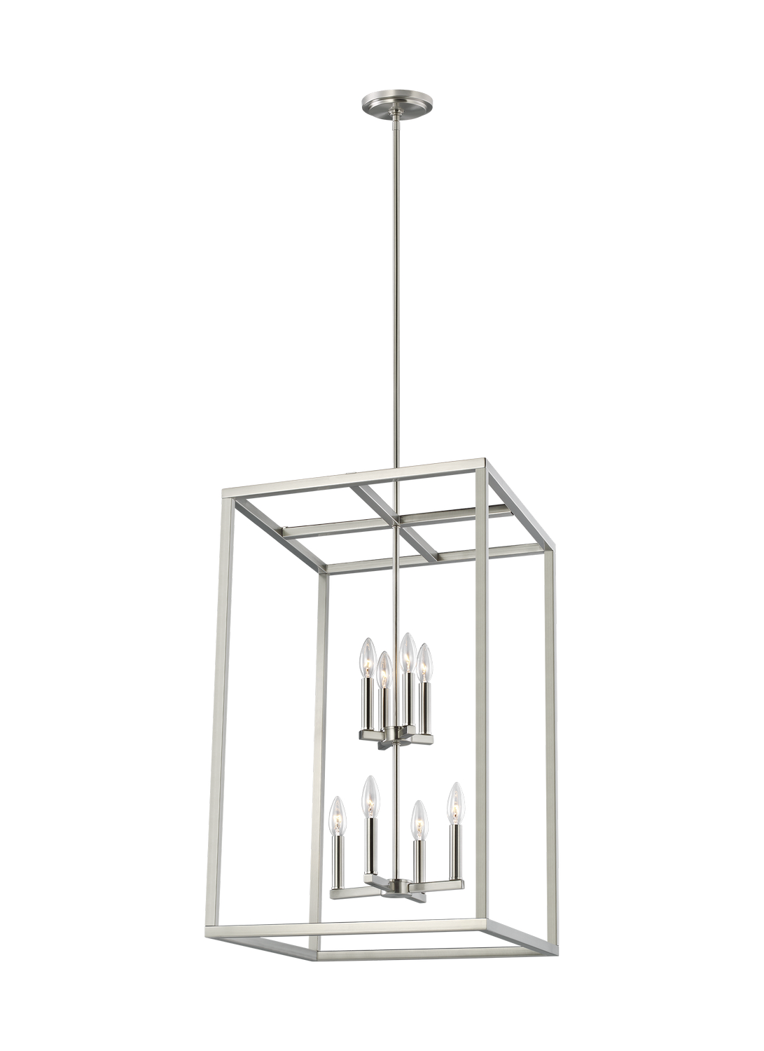 Eight Light Hall Foyer Pendant from the Moffet Street collection by Seagull 5134508EN 962