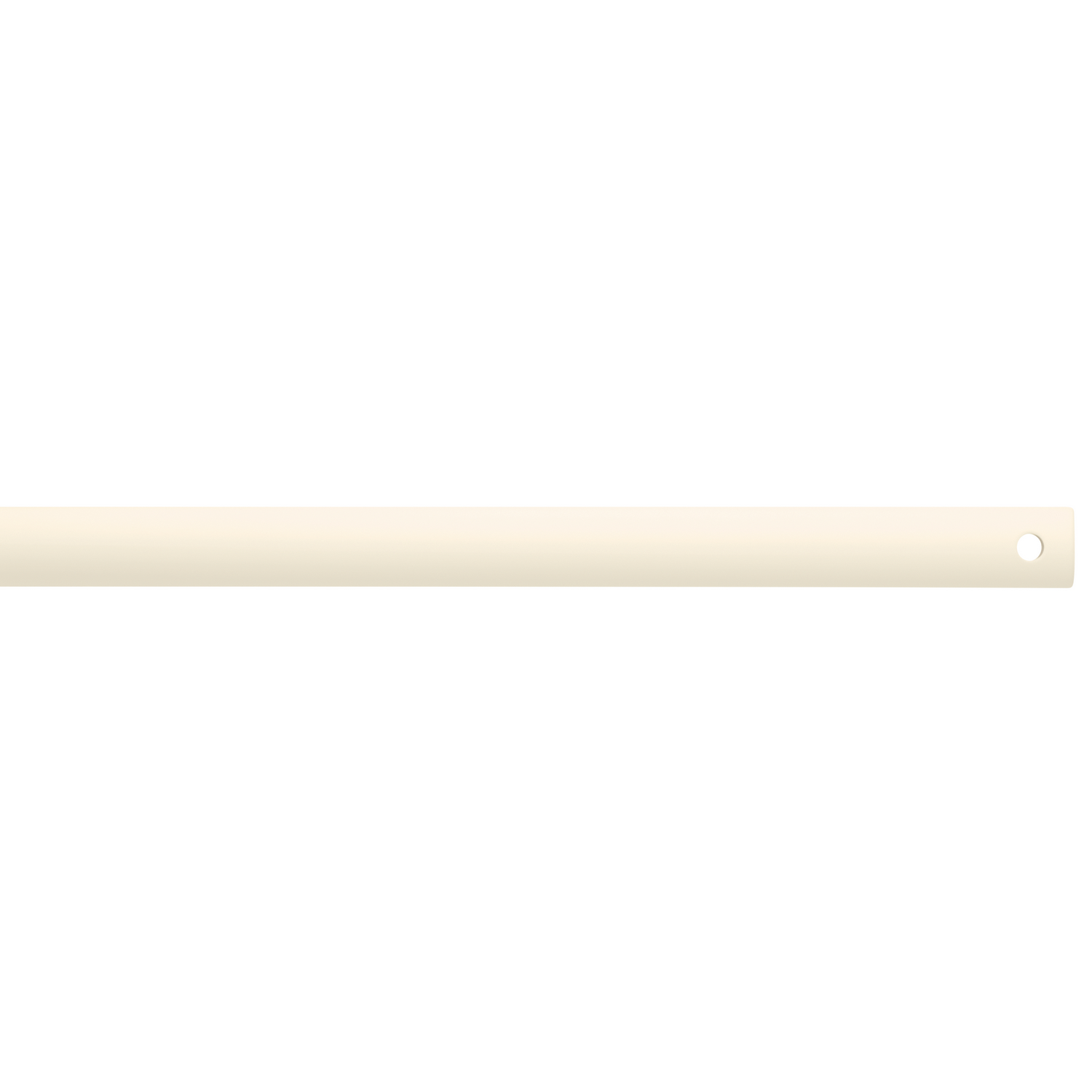 Down Rod from the Basics collection by Kichler 450SNW