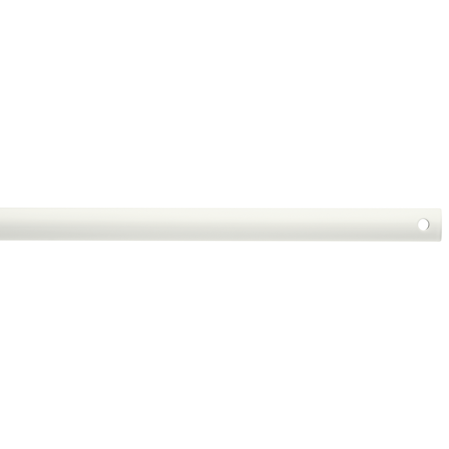 Down Rod from the Basics collection by Kichler 452WH