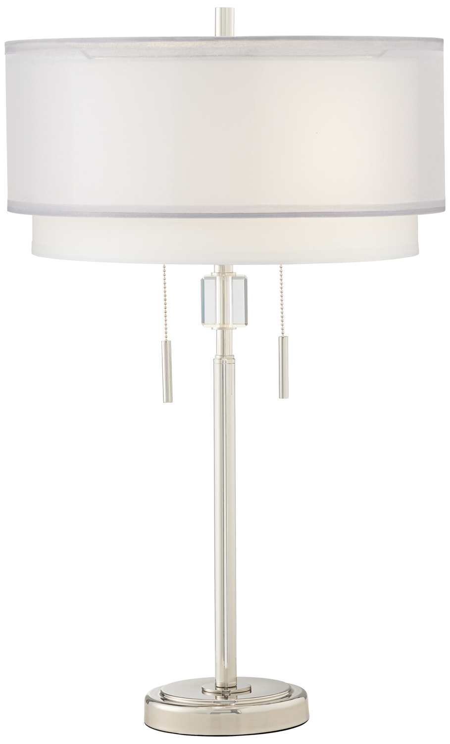 Two Light Table Lamp From The Claire Collection By Pacific Coast 87 10499 S2