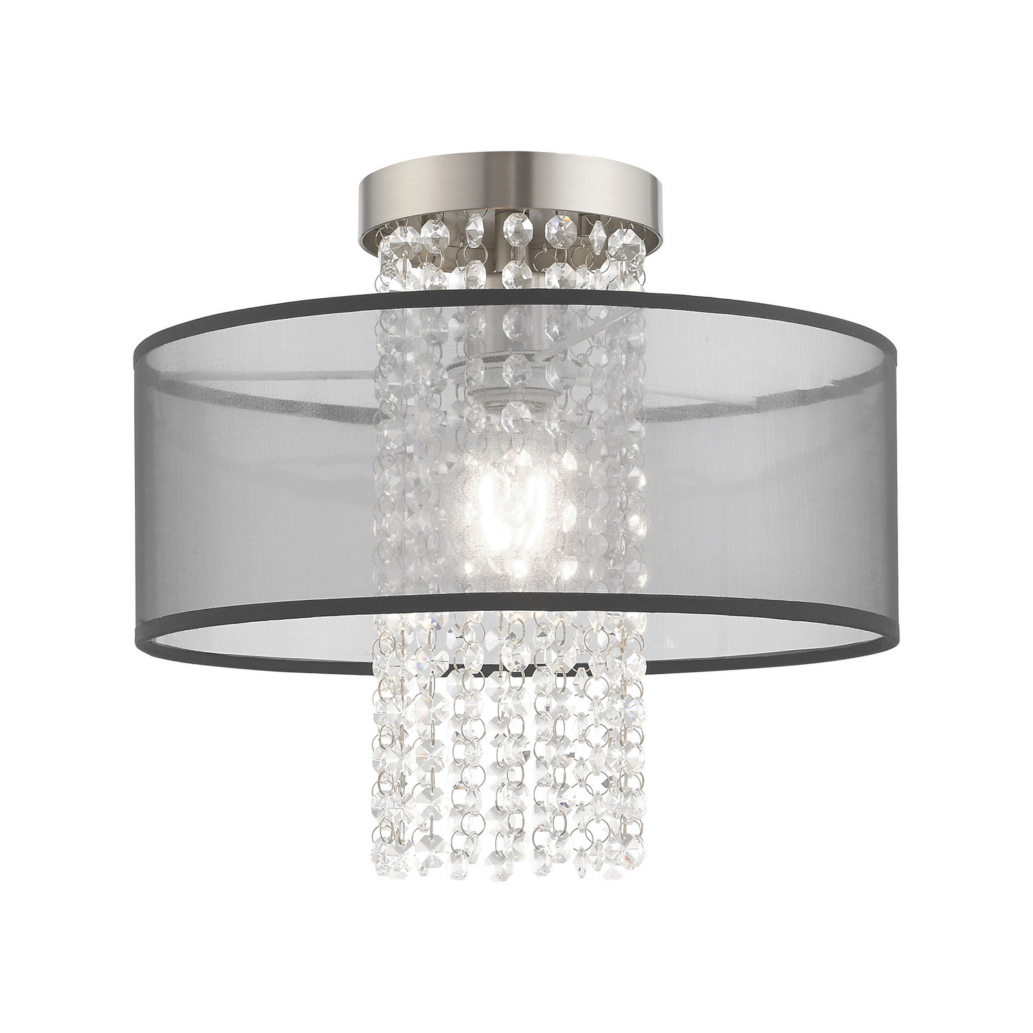 One Light Ceiling Mount From The Bella Vista Collection By Livex Lighting 43202 91