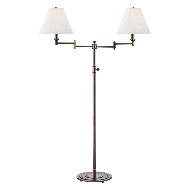 Two Light Floor Lamp From The Signature