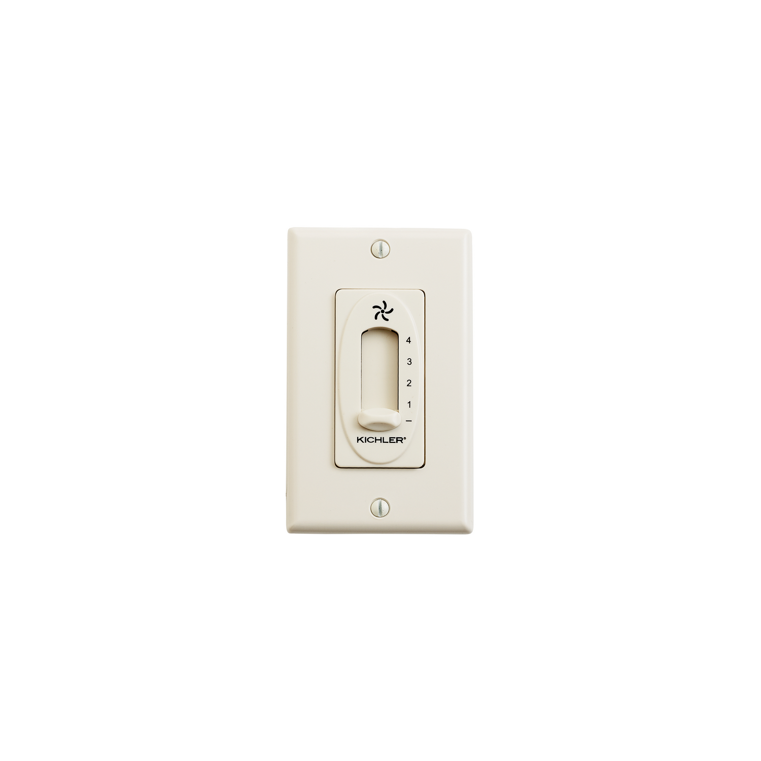 4 Speed Fan Slide Control from the Accessory collection by Kichler 337012ALM