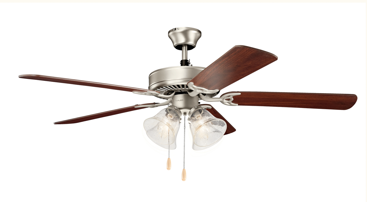52 inchCeiling Fan from the Basics collection by Kichler 402NI7S