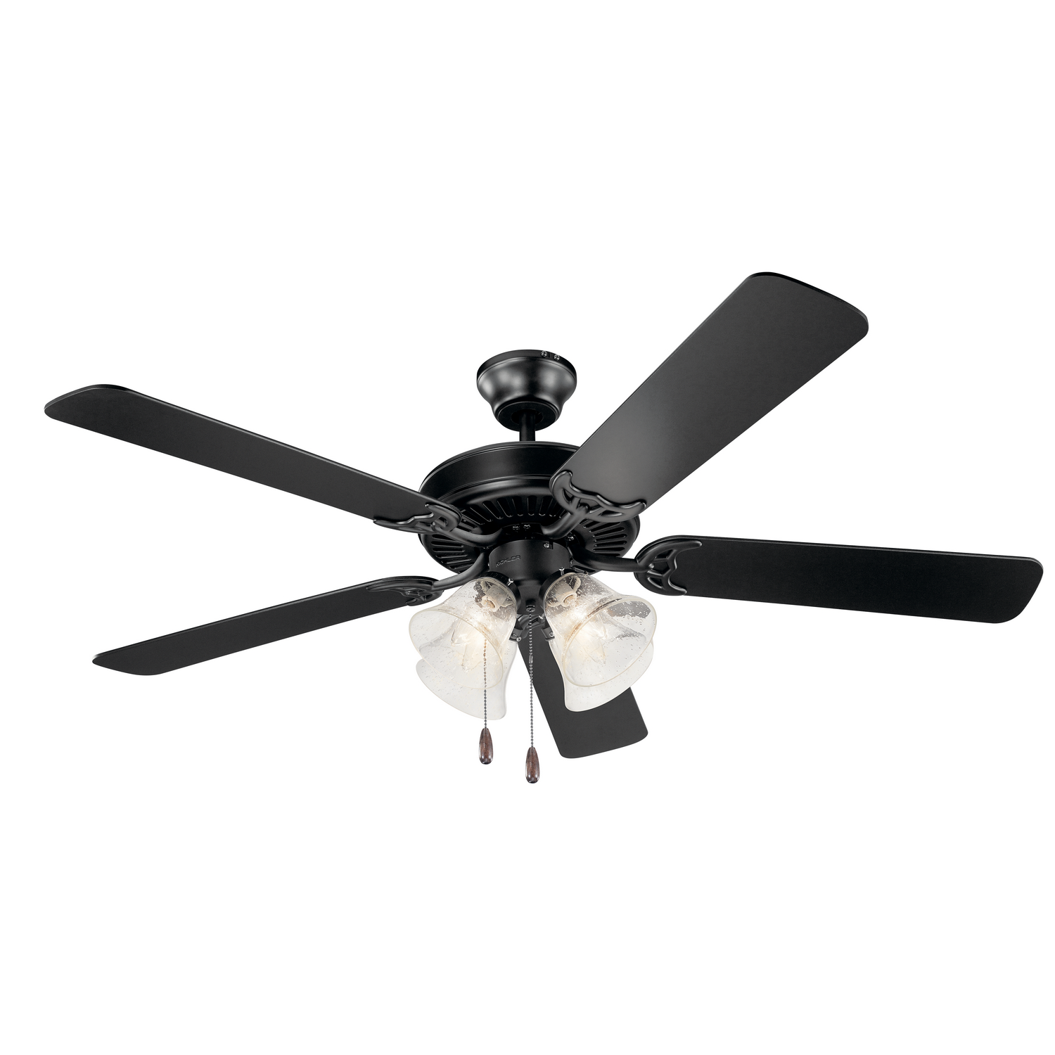52 inchCeiling Fan from the Basics collection by Kichler 402SBK