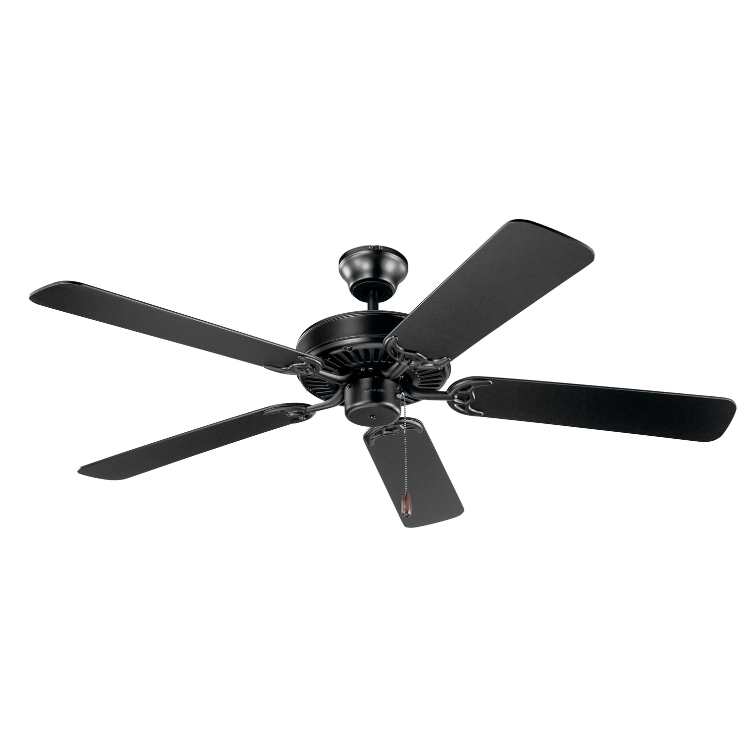 52 inchCeiling Fan from the Basics collection by Kichler 404SBK
