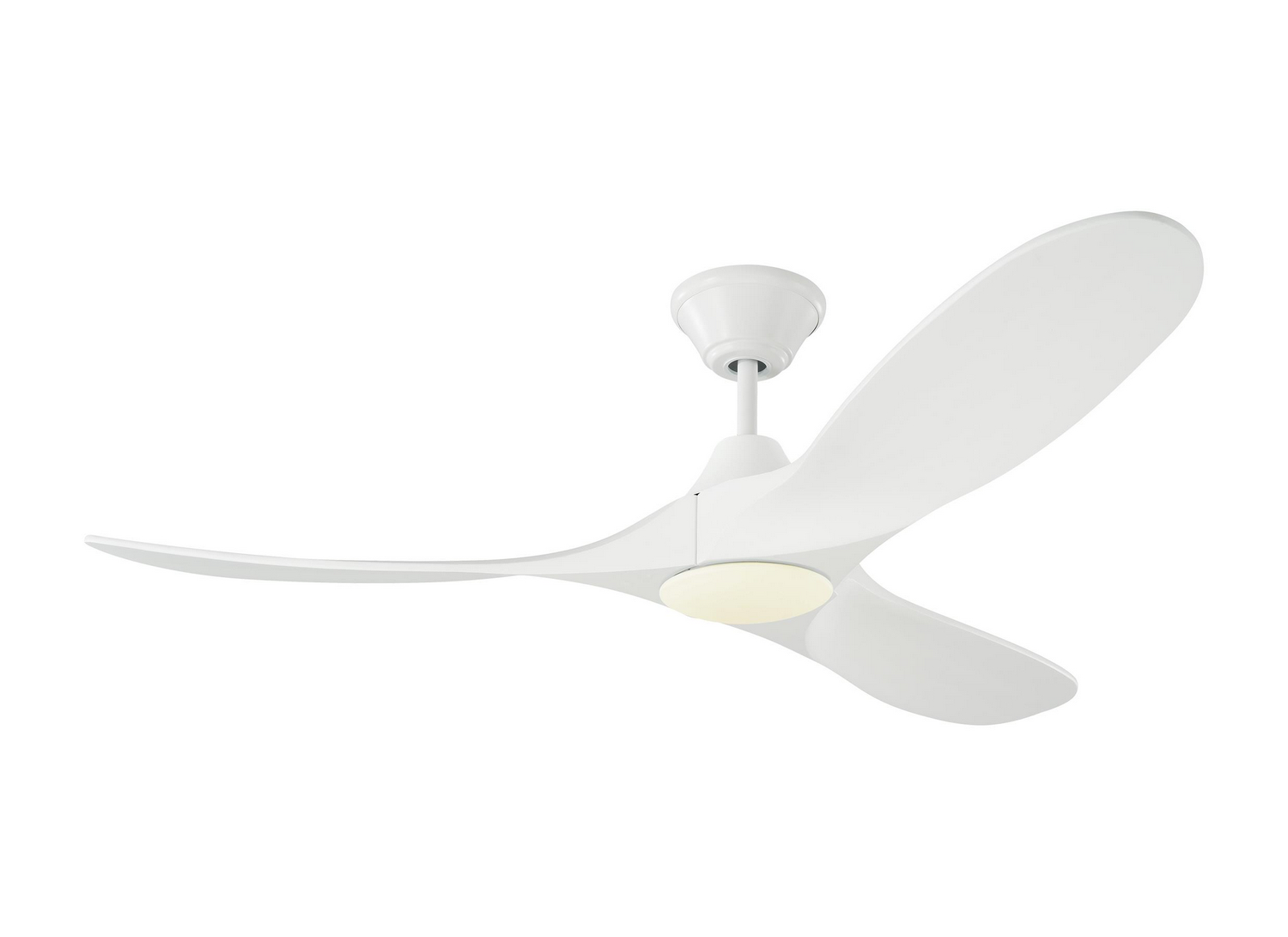 52 inchCeiling Fan from the Maverick II LED collection by Monte Carlo 3MAVR52RZWD