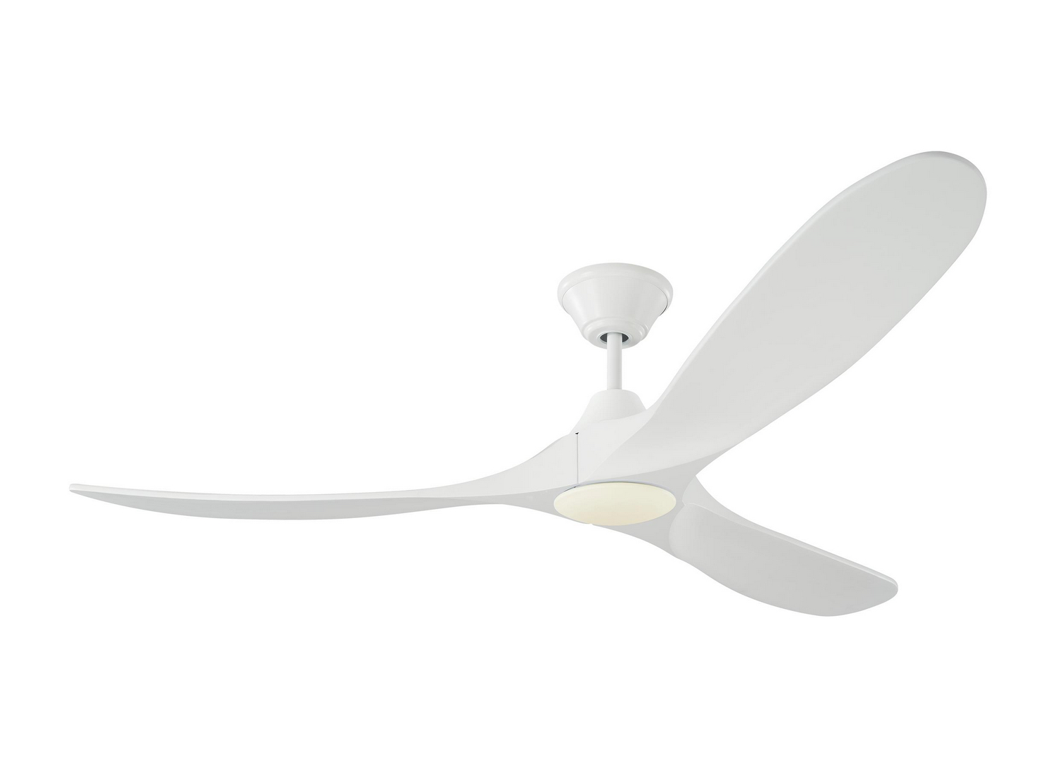 60 inchCeiling Fan from the Maverick LED collection by Monte Carlo 3MAVR60RZWD
