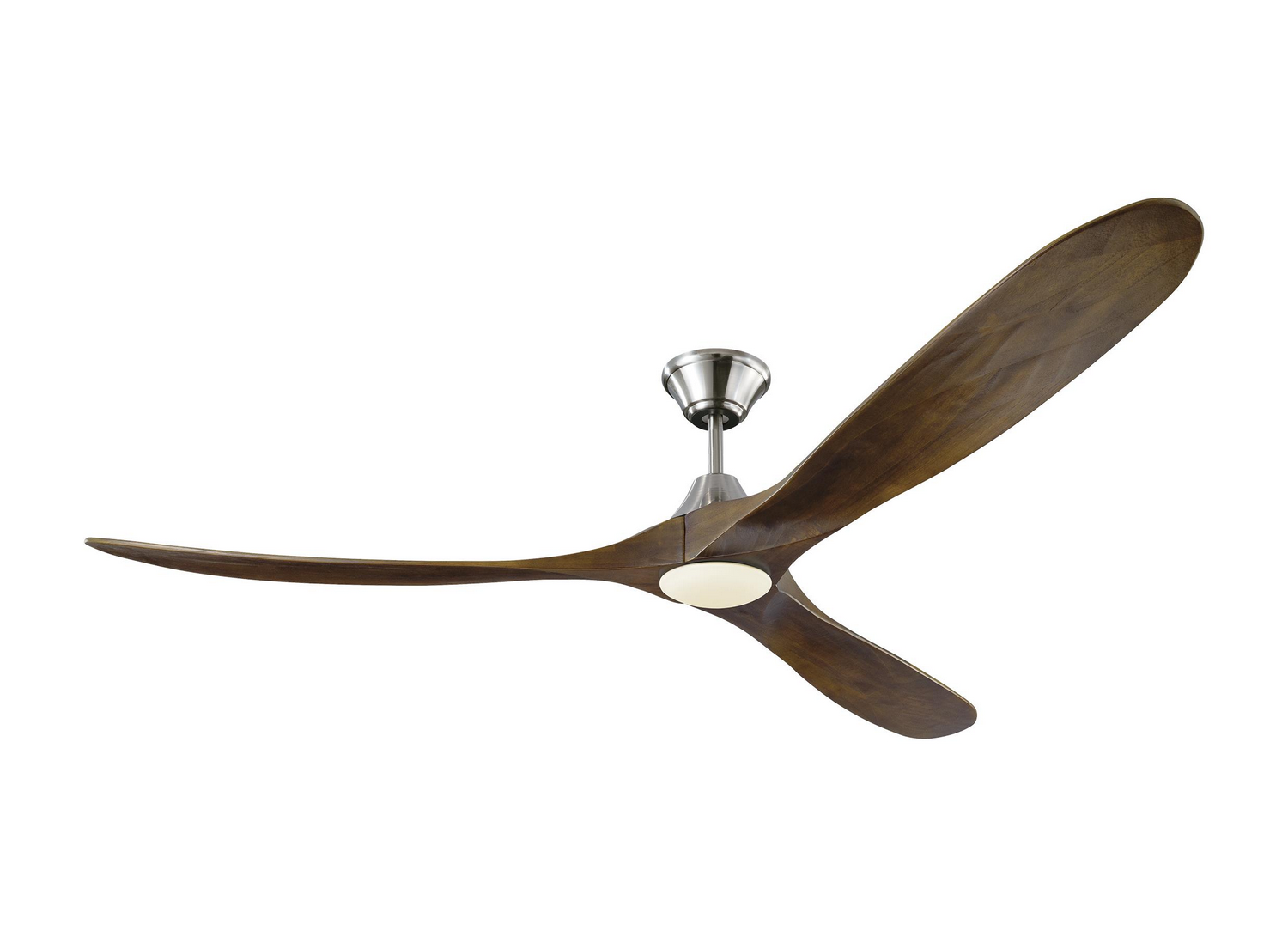 70 inchCeiling Fan from the Maverick Max LED collection by Monte Carlo 3MAVR70BSD