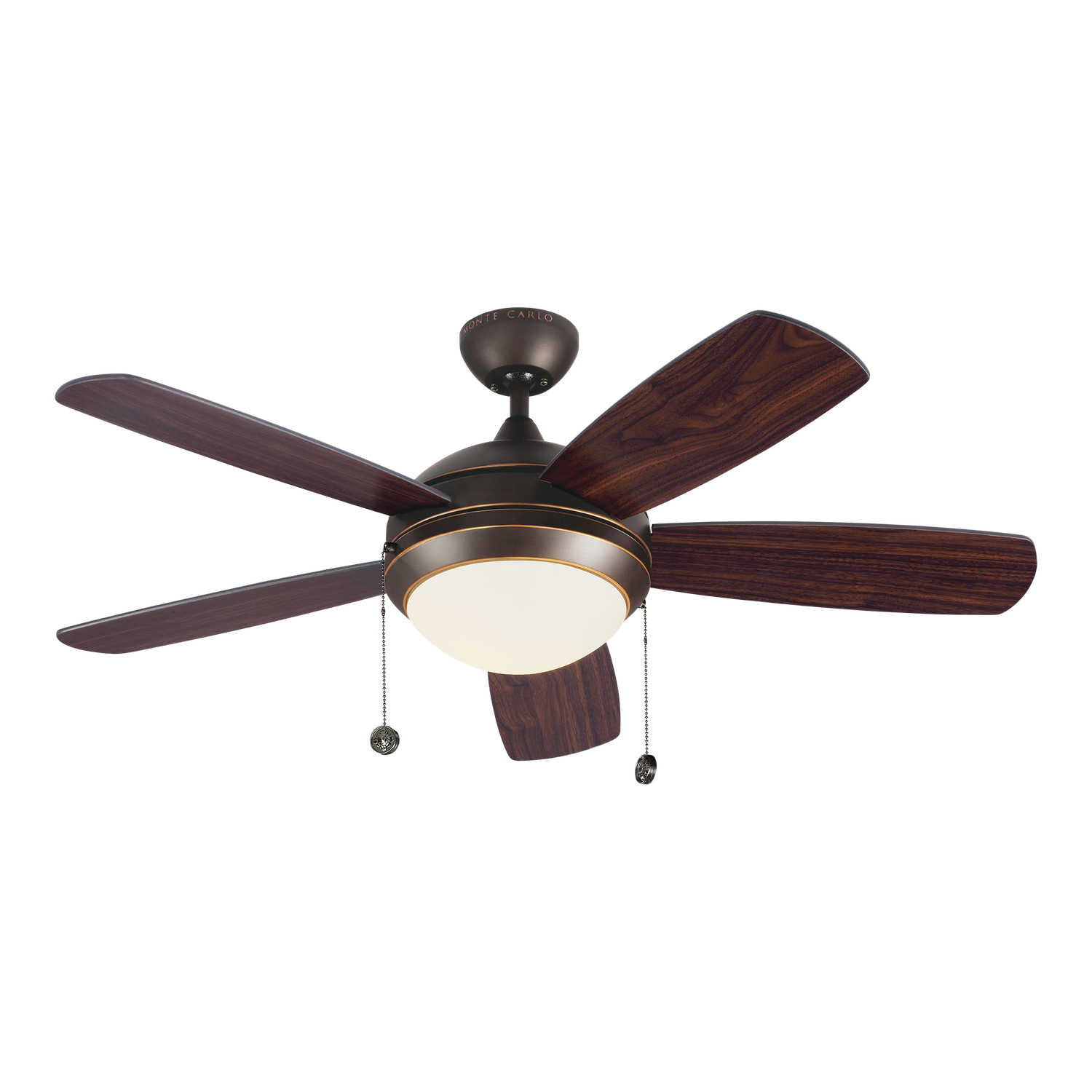 44 inch Ceiling Fan from the Discus Classic II collection by Monte Carlo 5DIC44RBD V1