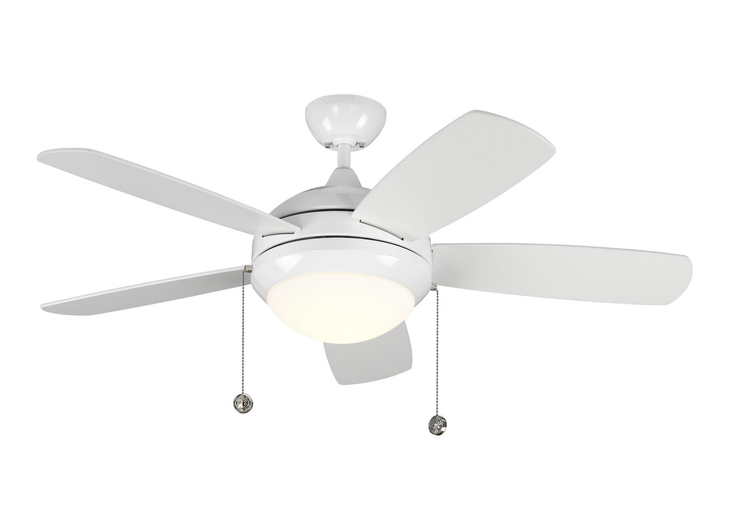 44 inch Ceiling Fan from the Discus Classic II collection by Monte Carlo 5DIC44WHD V1