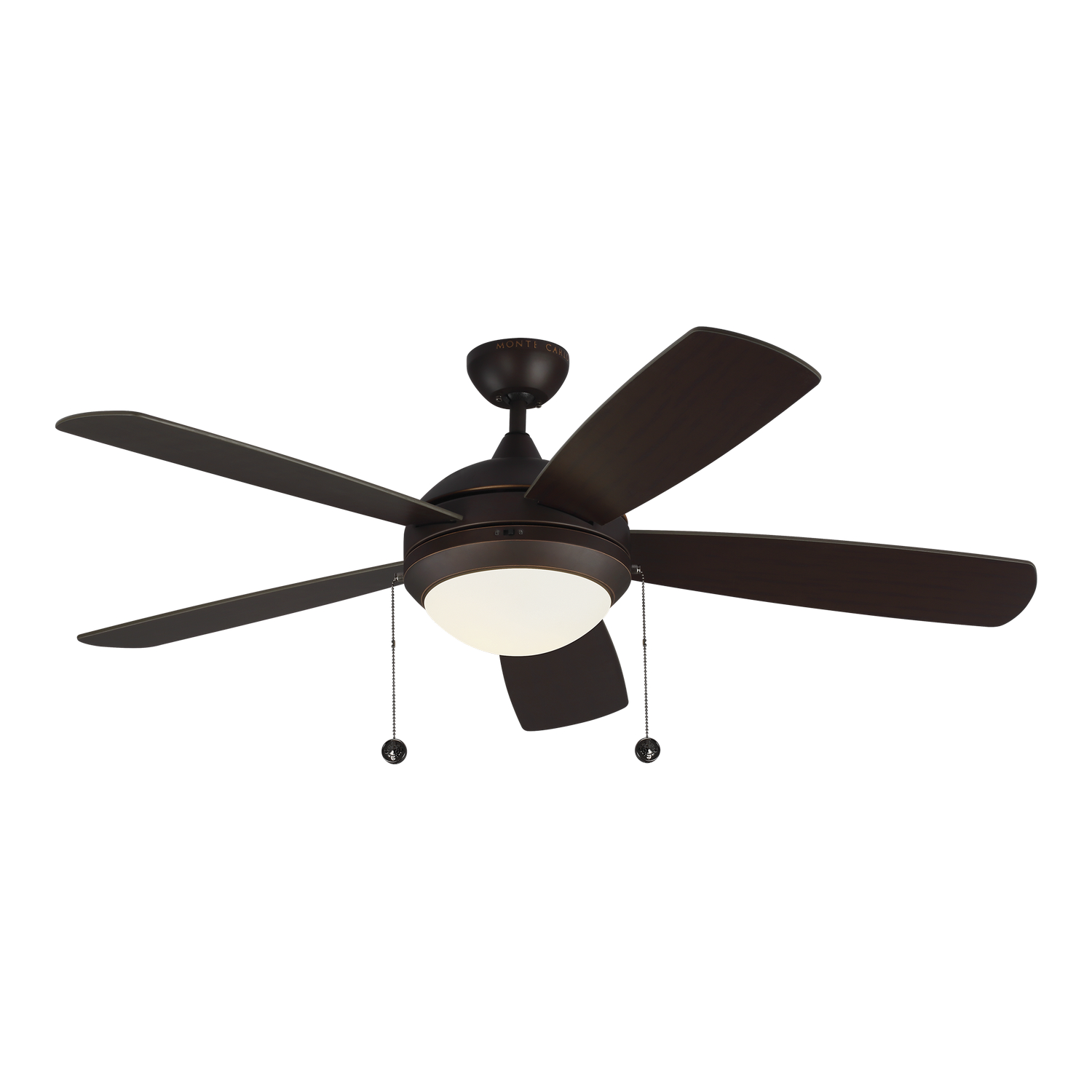 52 inchCeiling Fan from the Discus Classic collection by Monte Carlo 5DIC52RBD V1