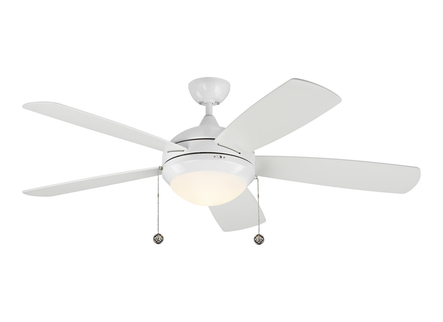 52 inchCeiling Fan from the Discus Classic collection by Monte Carlo 5DIC52WHD V1