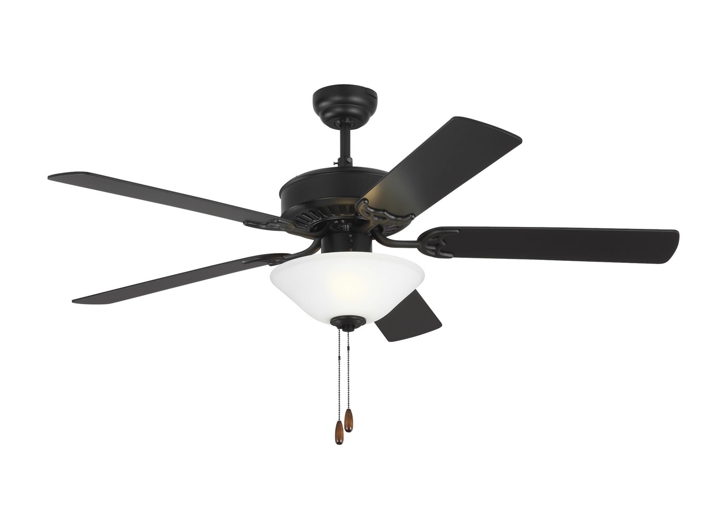 52 inchCeiling Fan from the Haven 52 LED 2 collection by Monte Carlo 5HV52BKD