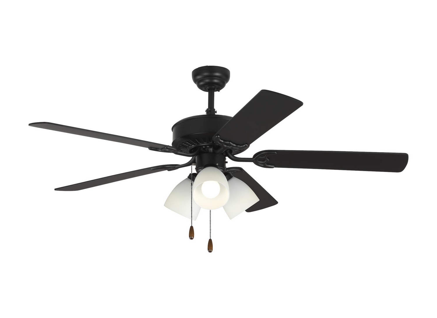 52 inchCeiling Fan from the Haven 52 LED 3 collection by Monte Carlo 5HV52BKF