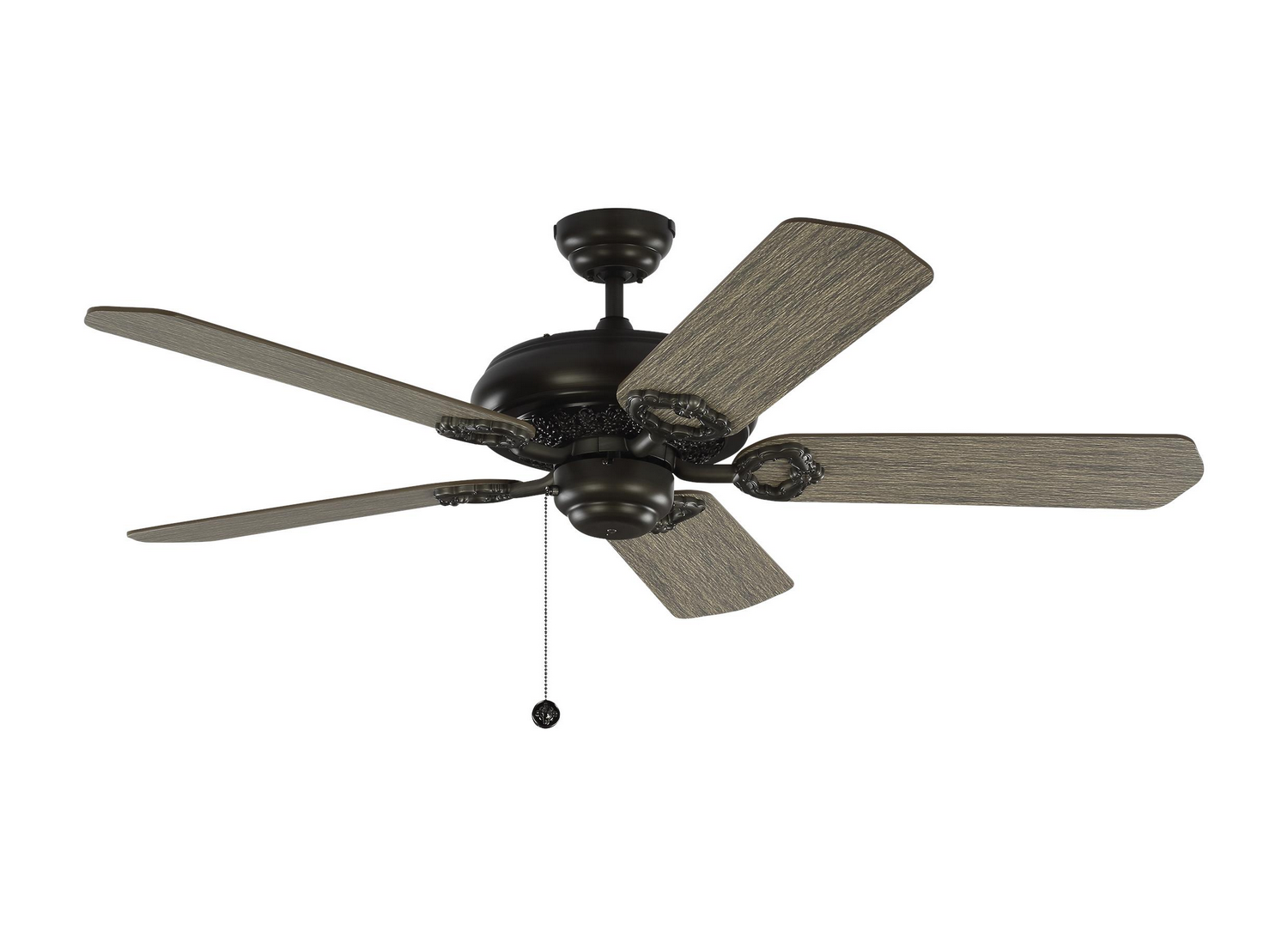 52 inchCeiling Fan from the York 52 collection by Monte Carlo 5YK52AGP