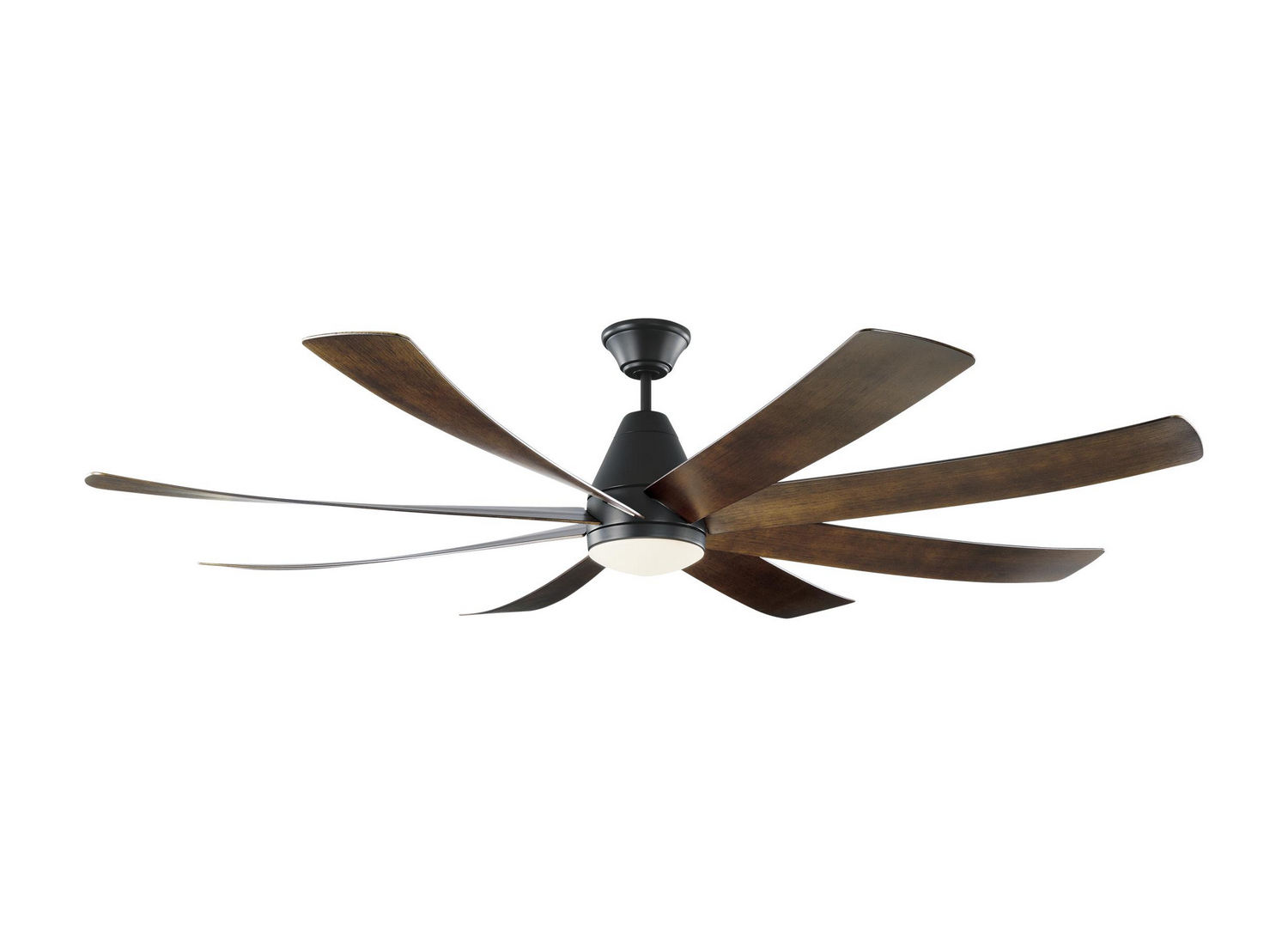 72 inchCeiling Fan from the Kingston collection by Monte Carlo 8KGR72BKD