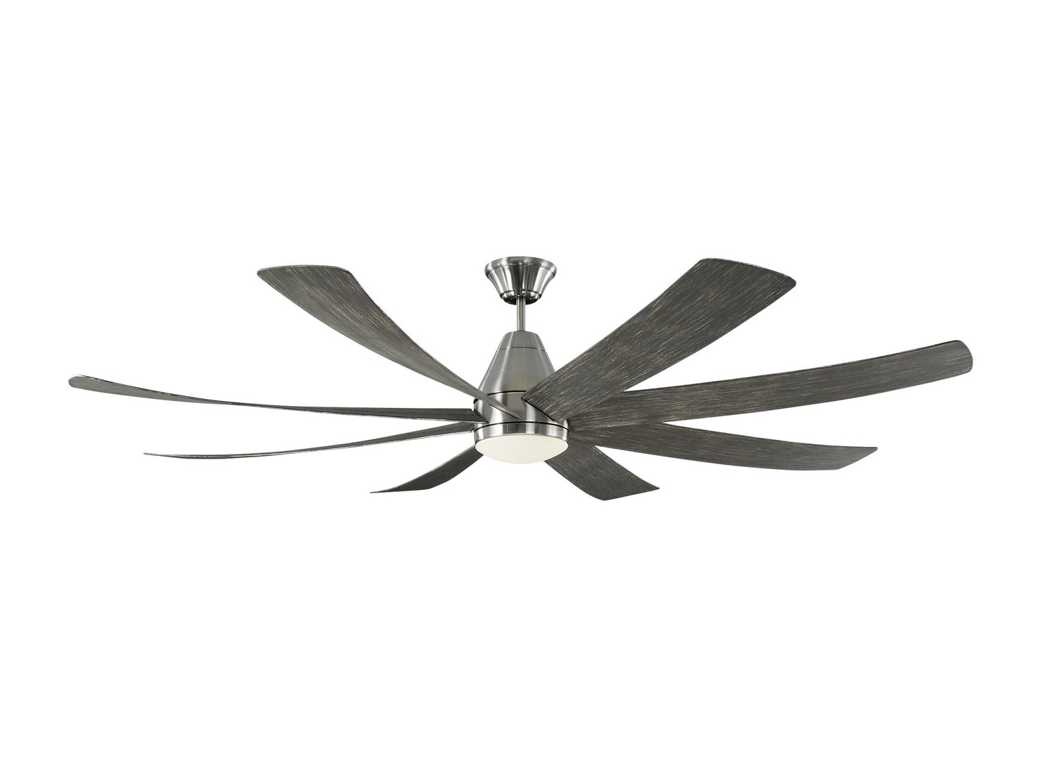 72 inchCeiling Fan from the Kingston collection by Monte Carlo 8KGR72BSLGWOD