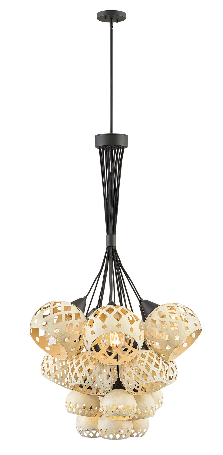 19 Light Chandelier from the Edie collection by Hinkley 3899OZ