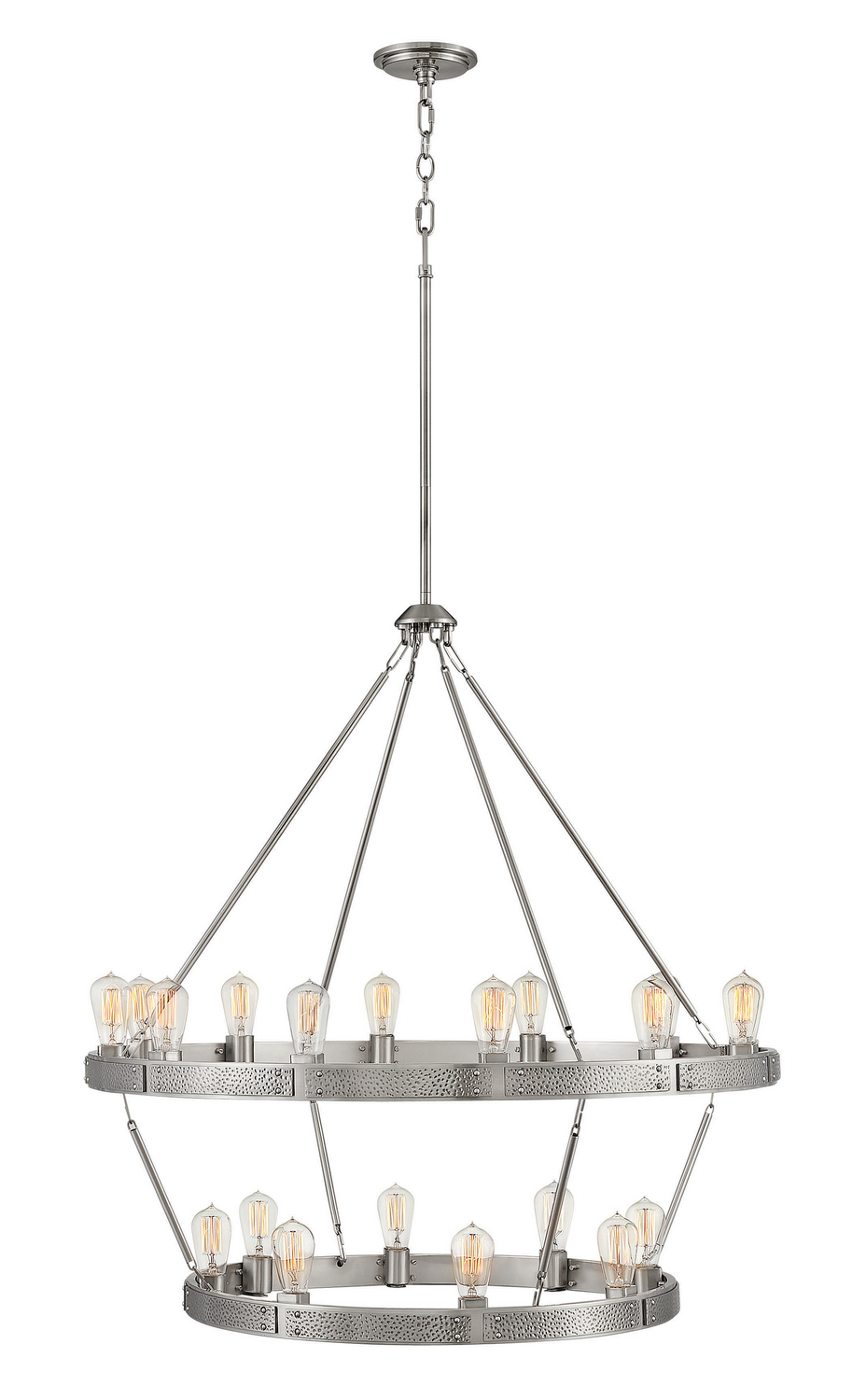 20 Light Chandelier from the Everett collection by Hinkley 4399BN