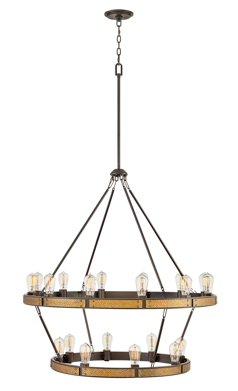 20 Light Chandelier from the Everett collection by Hinkley 4399BZ