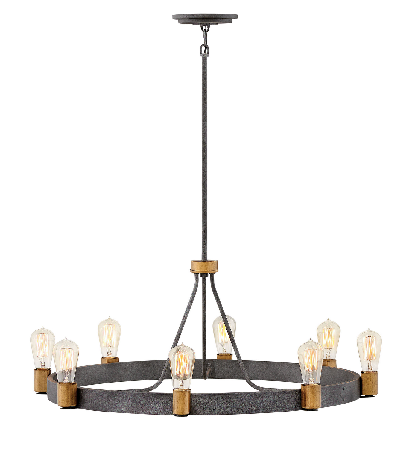 Eight Light Chandelier from the Silas collection by Hinkley 4268DZ