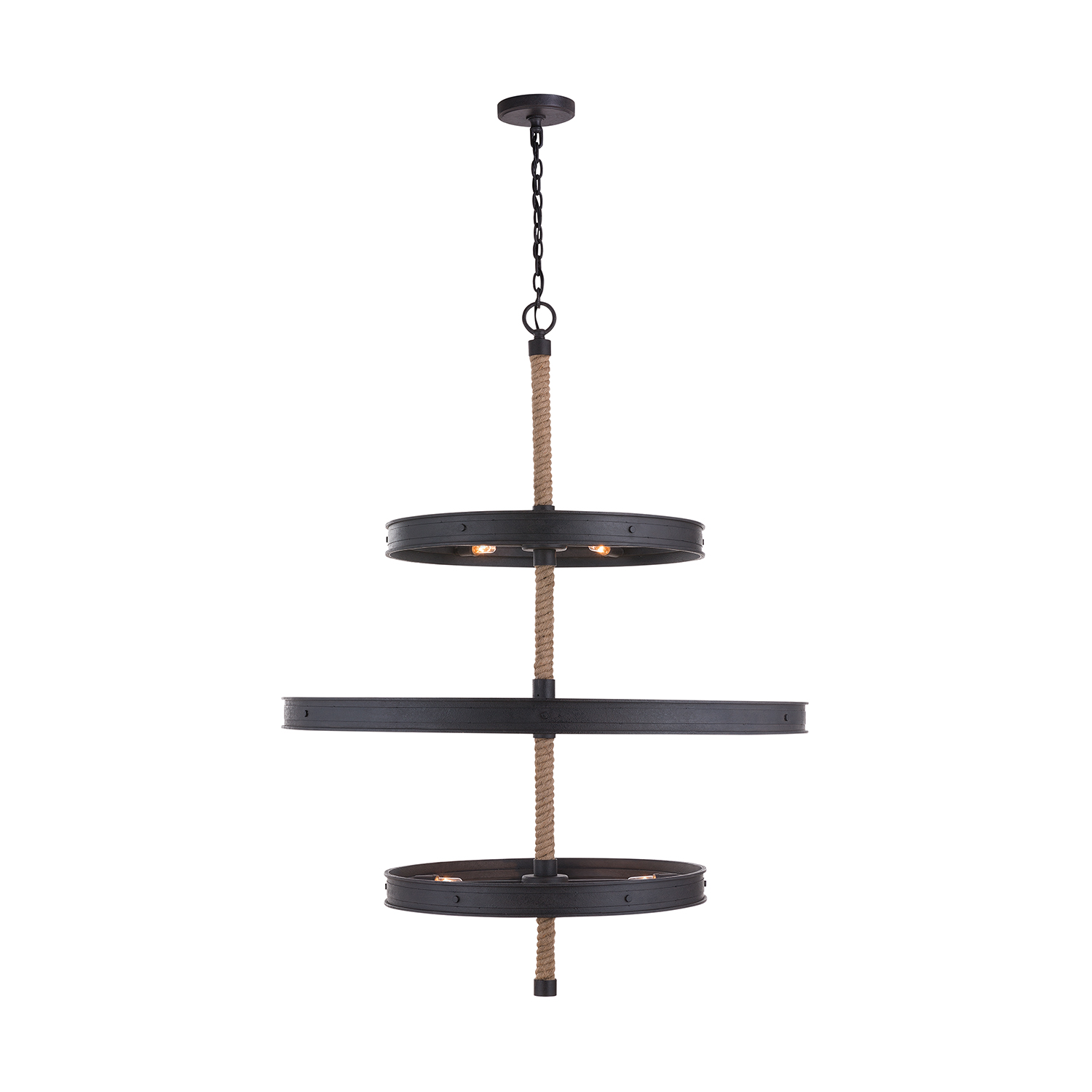 20 Light Chandelier from the Walker collection by Capital Lighting 430703RI