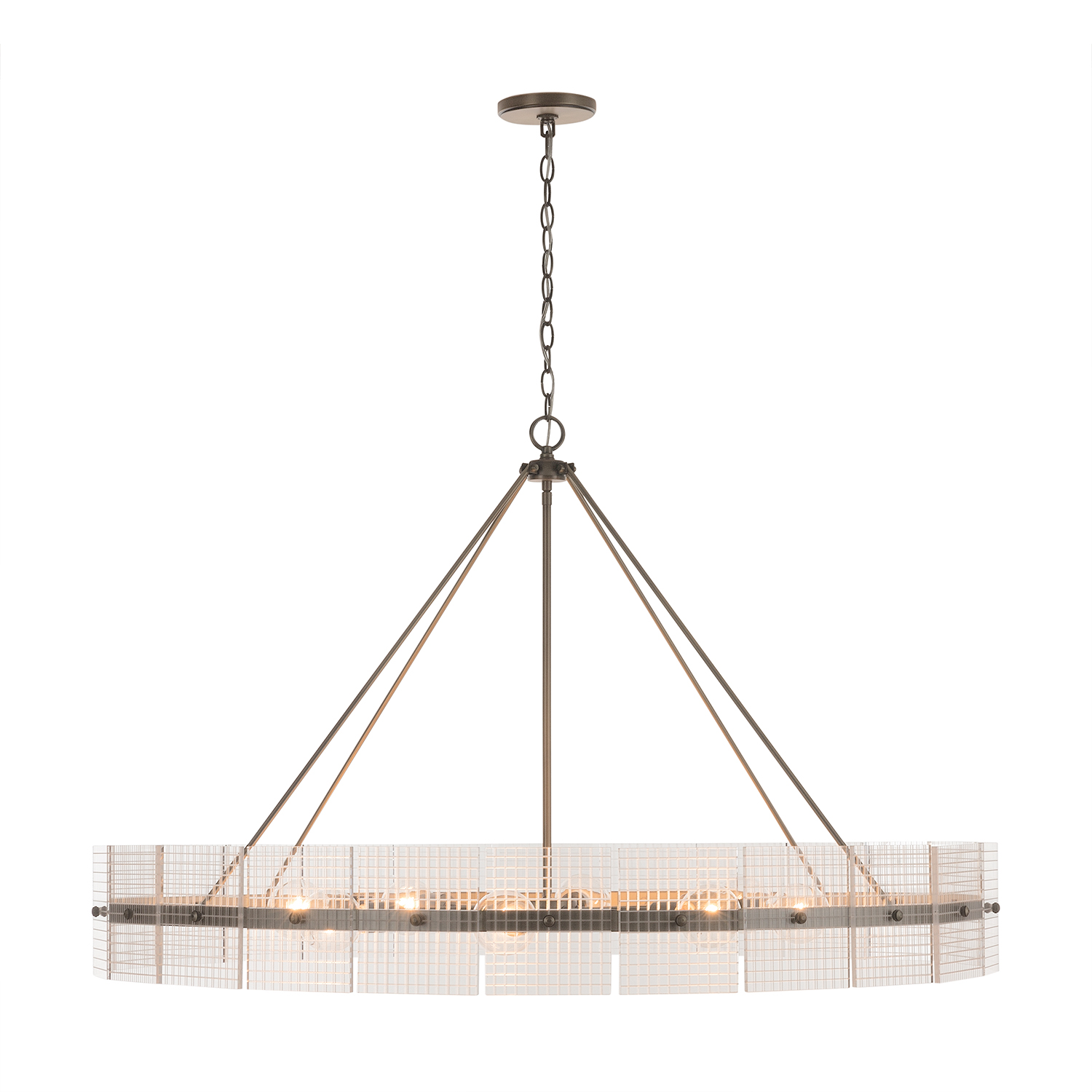Eight Light Chandelier from the Drew collection by Capital Lighting 431181AD