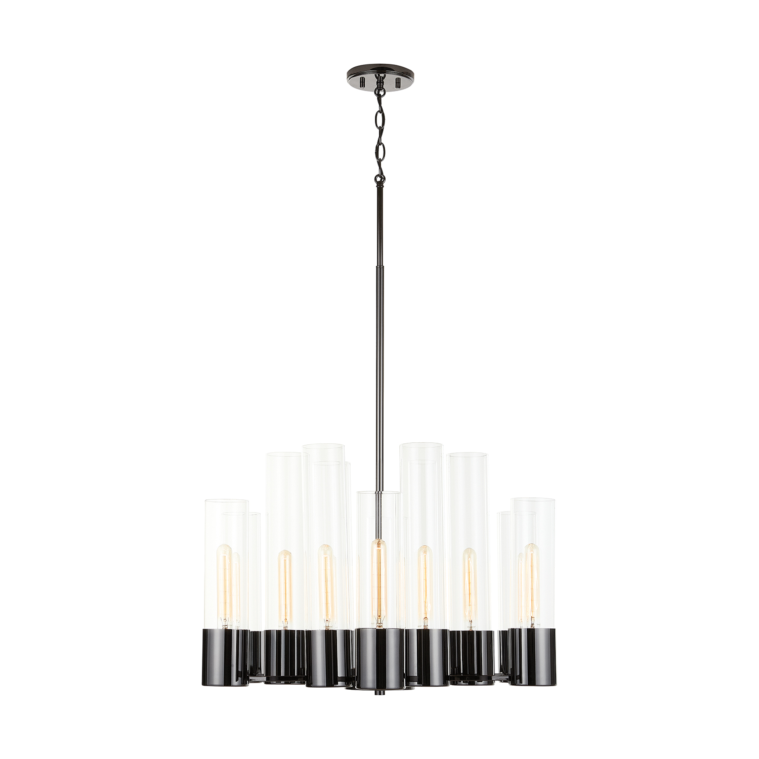 12 Light Chandelier from the Logan collection by Capital Lighting 432601BC