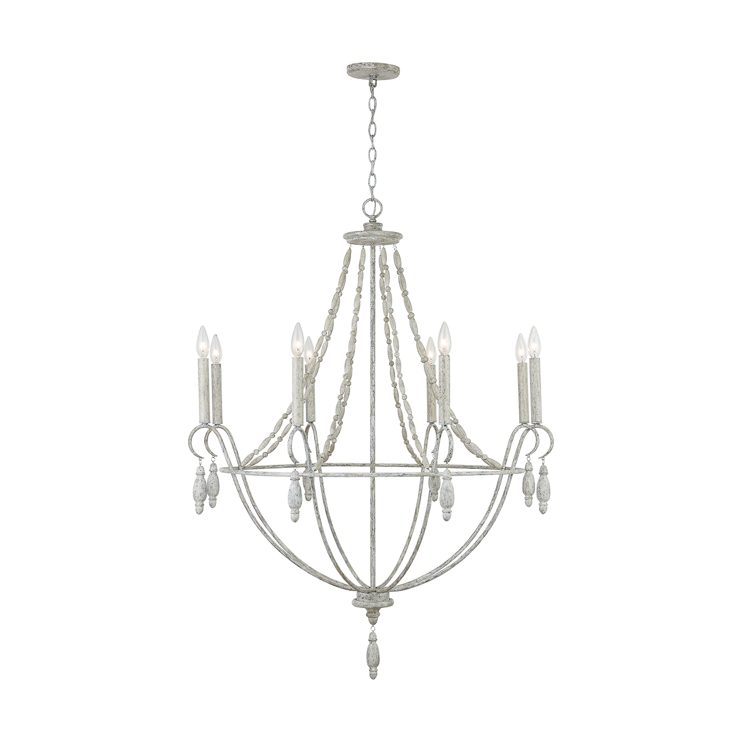 Eight Light Chandelier by Capital Lighting 432881MS