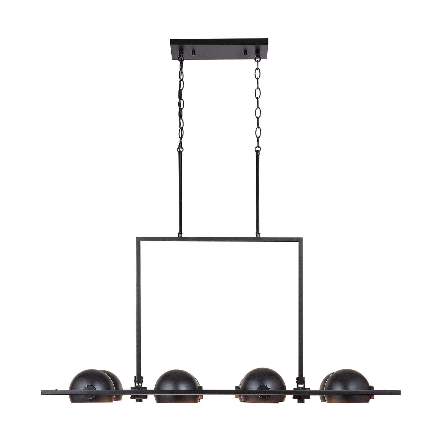 Eight Light Island Pendant from the Hadley collection by Capital Lighting 833181MB