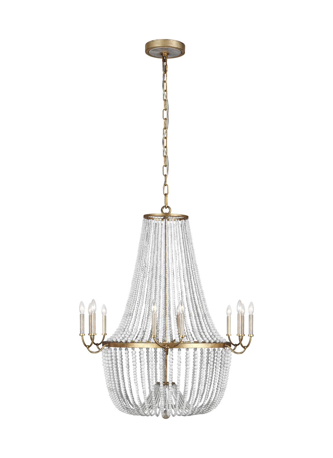 12 Light Chandelier from the Marielle collection by Feiss F328112ADB