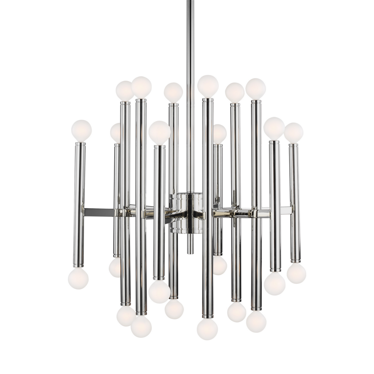 24 Light Chandelier from the Beckham Modern collection by Feiss TC10524PN