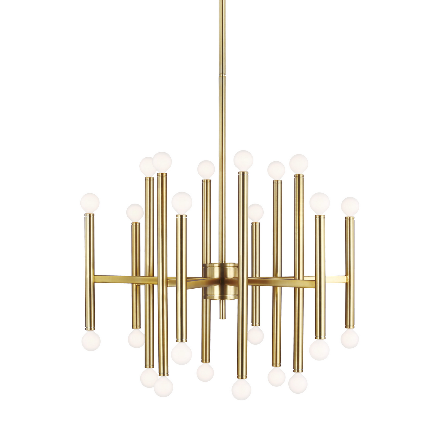 24 Light Chandelier from the Beckham Modern collection by Feiss TC10624BBS