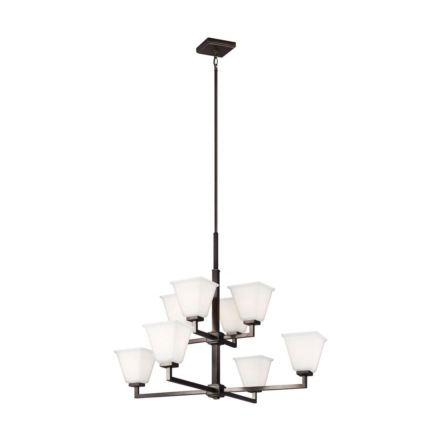 Eight Light Chandelier from the Ellis Harper collection by Seagull 3113708EN3 778