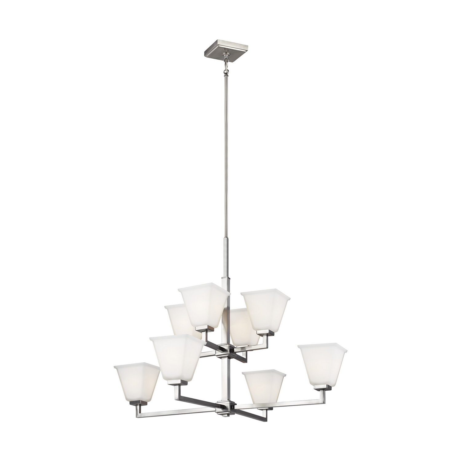 Eight Light Chandelier from the Ellis Harper collection by Seagull 3113708EN3 962