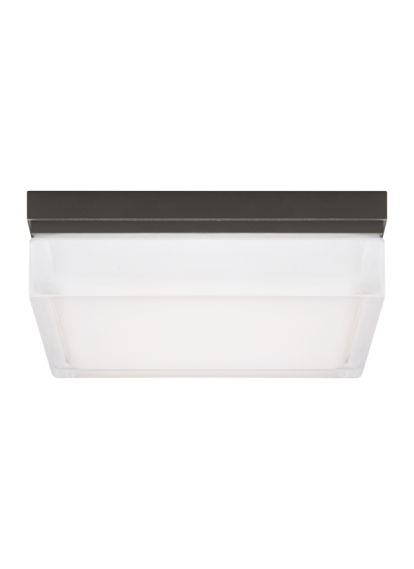 Boxie Ceiling Large Bz from the Boxie collection by Tech Lighting 700BXLZ