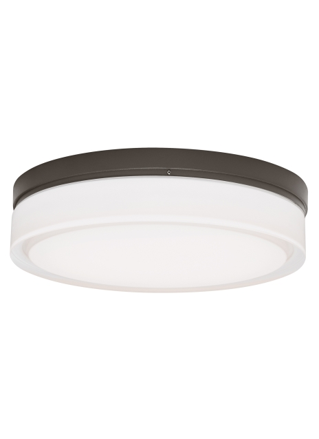 Cirque Ceiling Large Bz Led from the Cirque collection by Tech Lighting 700CQLZ LED