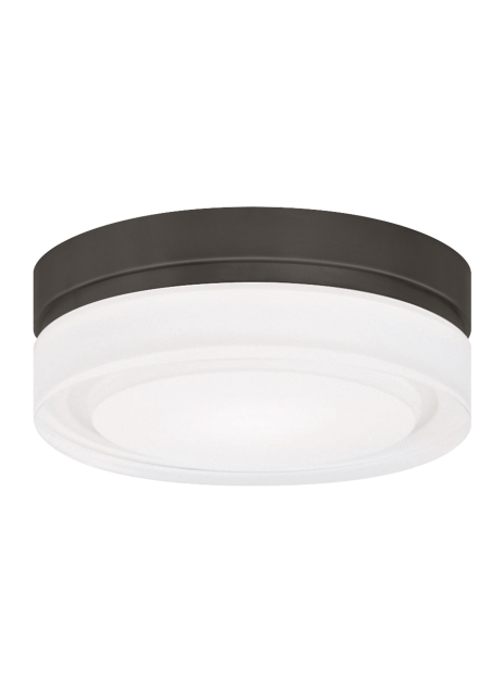 Cirque Ceiling Small Bz Led from the Cirque collection by Tech Lighting 700CQSZ LED